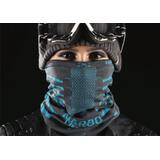 Mascara Protetora Para Bike,moto Naroo X9 Preto/azul