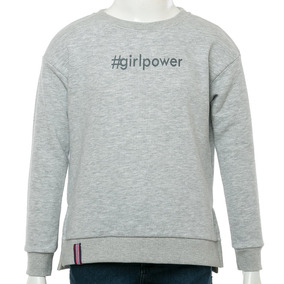 Buzo Girlpower Gris Topper Sport 78 Tienda Oficial