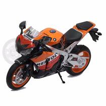 Miniatura Moto Honda Cbr 1000rr 2009 Repsol 1/6