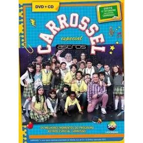 Dvd+cd Carrossel Especial Astros -melhores Momentos