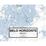 Mapa Em Autocad Belo Horizonte Mapacad