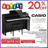 Casio Celviano Gp500 Piano Digital Profesional Outlet Oferta