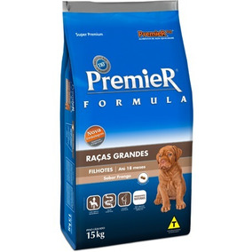 Ração Cachorro Premier Raças Grandes Filhotes Frango 15 Kg
