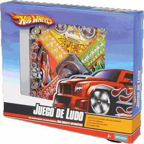 Juego De Mesa Ludomatic Nene Hot Wheels Disney Moody
