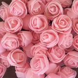 Rosas En Foami Paquete Por 50 Unidades