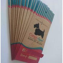 Etiquetas Colgantes Papel Kraft X5000   Hang Tags Fullcolor