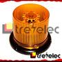 Baliza Ambar Intermitente 48 Leds Electrónica En 12v Y 24v