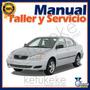 Manual De Taller Y Servicio Toyota Corolla 2004-2008 Ingles