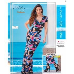 Maxidress Vestido Cklass Primavera Verano 2017 Nuevo