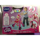 Carrito De Bebé 3 En 1 Little Love Vtech Envio Gratis Caba