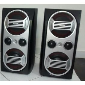 02 Caixas Acústica De Som, Marca Philips.