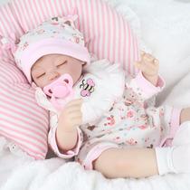 Bebe Reborn 42 Cm Sobre Pedidl Silicon Cuerpo Tela Conregalo