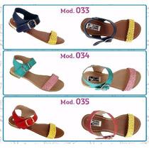 Sandalias Para Verano, Alta Calidad, Diferentes Diseños.
