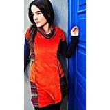 Vestido Plush Diseño Independiente