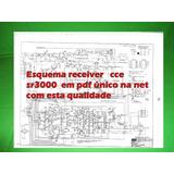 Esquema Receiver Cce Sr3000 Sr 3000 Em Pdf