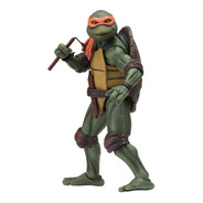 Tmnt Tortugas Ninja Movie 1990 Michelangelo N.e.c.a. Neca