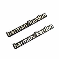 Par Emblema Harman Kardon Som Automotivo Mercedes Bmw Audi