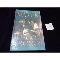 Juego De Tronos George R.r Martin Libro Pasta Dura