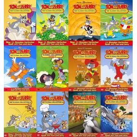 Tom & Jerry (coleção Completa Em 12 Dvd
