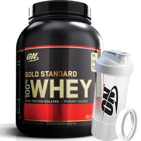 100% Whey Gold Standard 2.270g + Multi Shaker - On / Optimum