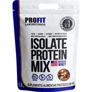 Whey Isolate Protein Mix Refil 1,8kg Profit - Mp Importada