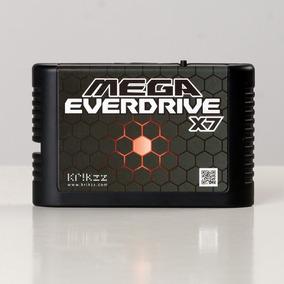Flashcard Mega Everdrive X7 Krikzz P/ Mega Drive,original