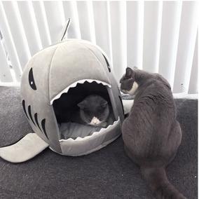Casinha Caminha Tubarão Pets Casa Cama Cão Gato Cachorro