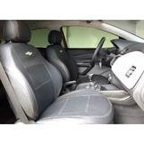 Capa De Banco De Couro Automotivo Onix 1.0 Ls 2013