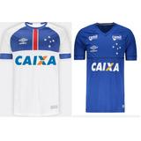 Kit 2 Camisas Cruzeiro Umbro Libertadores 2018 Frete Gratis