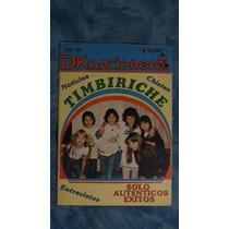 Revista Dkancionero Timbiriche - Portada Y Reportaje 1983