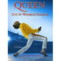 Dvd Queen Live At Wembley Stadium Importado