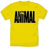 Camiseta Animal (amarela - P) Universal Nutrition