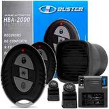 Alarme Automotivo Carro H Buster Hba 2000 C/sirene E 2 Contr