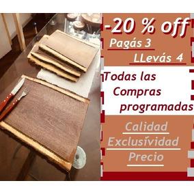 Set 4 Tablas Rústica Madera 35x26 Cm -20% (5 + 1 De Regalo)