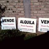 Cartel Para Inmobiliaria Vende Alquila De Corrugado Plastico