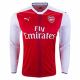 Jersey Arsenal 16-17 Local Manga Larga