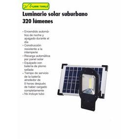 Luminaria Reflector Solar Automático Suburbano 320 Lumenes