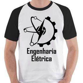 Camiseta Engenharia Elétrica Curso 1 Camisa Blusa Raglan