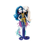 Monster High Great Scarer Reef Peri Y Perla Serpentina Muñec