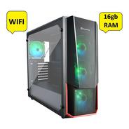 Pc Gamer Amd Ryzen 3 Pro 4350g-16gb Ram-240gb Ssd/b450m/wifi