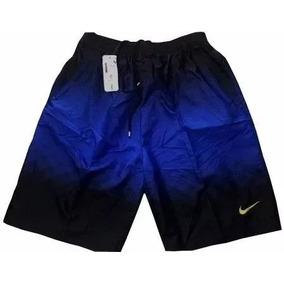 Bermuda Nike Masculino Tactel C Bolsos Academia Colorid