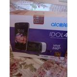 Celular Alcatel Idol4 Nuevo En Caja Con Todos Sus Accesorios