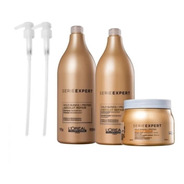 Loreal Kit Absolut Repair Gold Quinoa + Protein