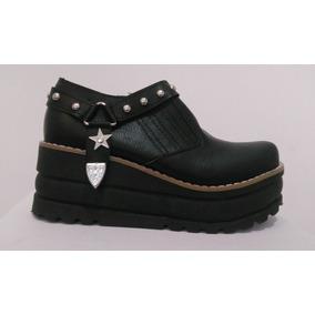 Bota Charro Zapato Mujer Texana Base Alta Super Conform2018