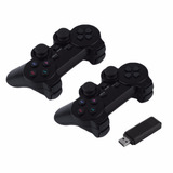 2 Control Joystick De Juegos Pc Gamepad Usb Inalambricos