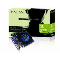 Placa De Vídeo Geforce Gt730 2gb Ddr3 Pci Express 2.0 X16