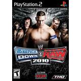 Wwe Smackdown! Vs. Raw 2010 - Ps2 Patch + Encarte