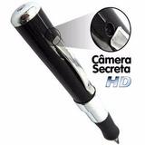 Caneta Espia Camera Filmadora Hd Espiao Filma E Tira Foto