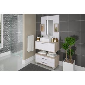 Balcão De Banheiro - Novo Em Mdp