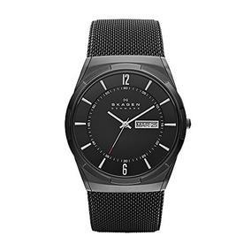 Skagen Mens Skw6006 Melbye Black Titanium Mesh Watch